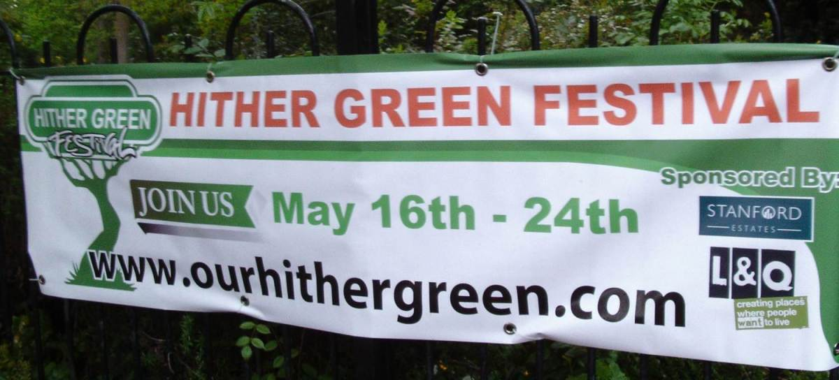 It's Hither Green Festival Time!
